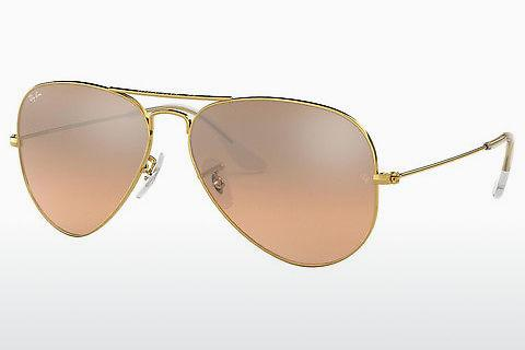 Solbriller Ray-Ban AVIATOR LARGE METAL (RB3025 001/3E)
