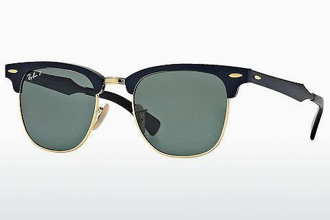 Solbriller Ray-Ban CLUBMASTER ALUMINUM (RB3507 136/N5)