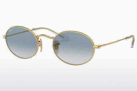 Solbriller Ray-Ban OVAL (RB3547N 001/3F)
