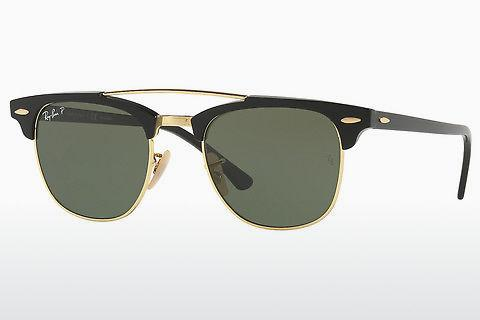 Solbriller Ray-Ban CLUBMASTER DOUBLEBRIDGE (RB3816 901/58)