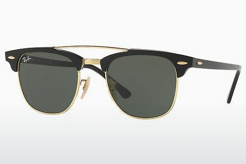 Solbriller Ray-Ban CLUBMASTER DOUBLEBRIDGE (RB3816 901)