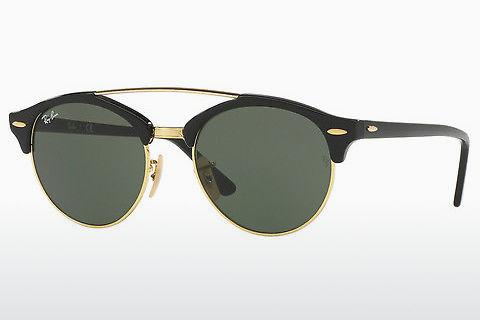 Solbriller Ray-Ban Clubround Double Bridge (RB4346 901)