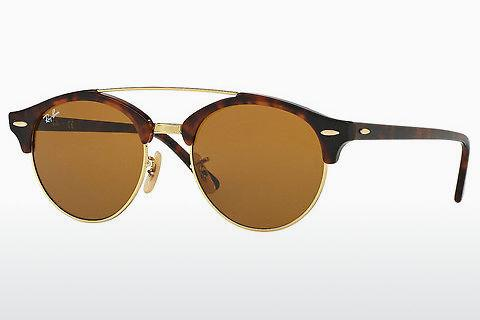 Solbriller Ray-Ban Clubround Double Bridge (RB4346 990/33)