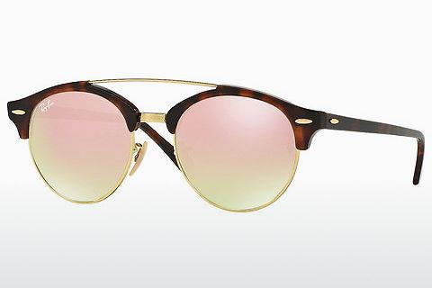 Solbriller Ray-Ban Clubround Double Bridge (RB4346 990/7O)