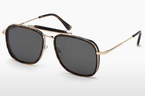 Solbriller Tom Ford Huck (FT0665 52A)