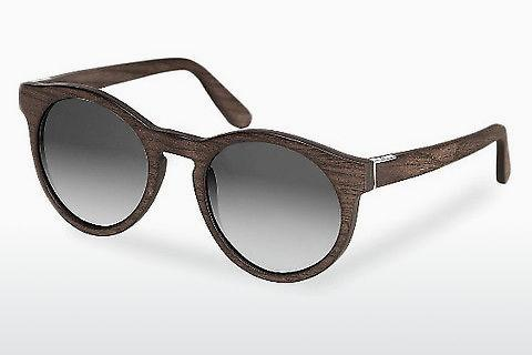 Solbriller Wood Fellas Au (10756 black oak/grey)