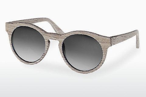 Solbriller Wood Fellas Au (10756 chalk oak/grey)