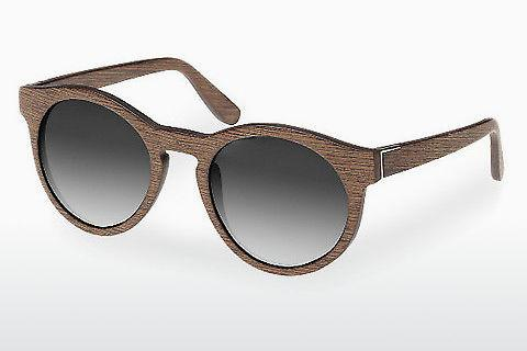 Solbriller Wood Fellas Au (10756 walnut/grey)