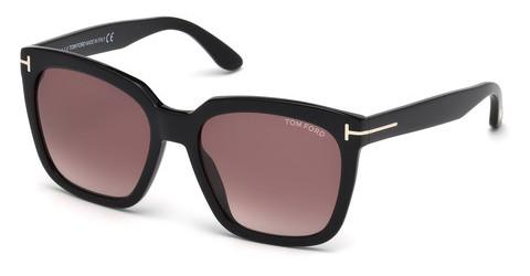 Solbriller Tom Ford Amarra (FT0502 01T)