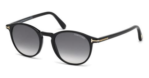 Solbriller Tom Ford Andrea (FT0539 01B)