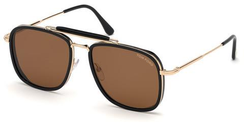 Solbriller Tom Ford Huck (FT0665 01E)