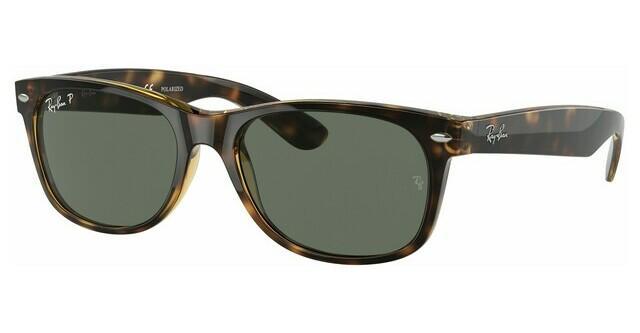 ray ban nye wayfarer solbriller på ansigtet