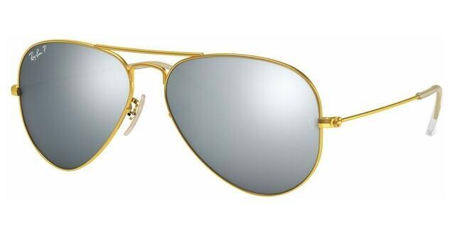 ray ban aviator 3025 polariserede solbriller