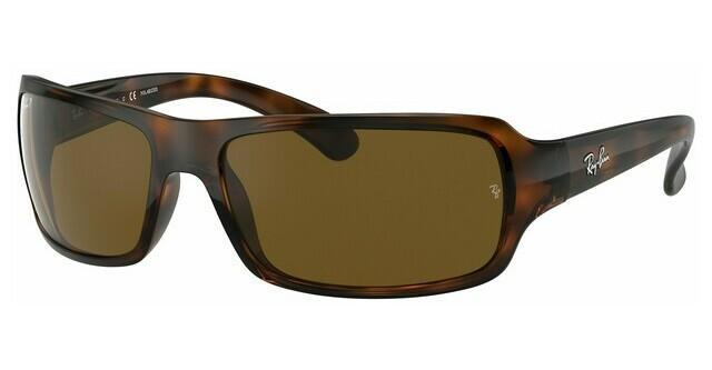 ray ban solbriller rektangel brun
